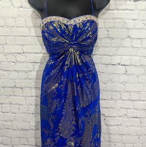 Aidan Mattox Silk Gorgeous Gown